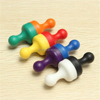 Hot Sale Newest 8 Colour 8pcs/Set Strong Magnetic Pins D19x25mm Teaching Powerful Magnets Education Teach