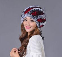 Best Selling Premium Quality children mens winter rex rabbit fur hat
