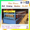 Máquina Xinnuo cubierta Para Panel de aluminio Suelo Construcción máquina formadora de rollos Para Rusia