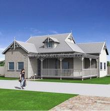 guangzhou good design cheap price prefabricated modular home