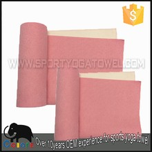 Natural rubber material promotional gym custom yoga mat