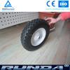 Enviromental pu solid wheel foam tyre 4.00-8 for wheel barrow