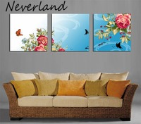Abstract wall paintings, art picture, landscape paintings,art wall clock 3 piece, HH28