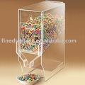 De cereales a granel de acrílico dispensador dispensador de cereales( fd- un- 0112)
