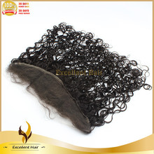 Best selling Brazilian blonde color human hair silk top lace frontals 13x4