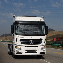380hp Beiben V3 prime mover with trailer 6x4 with Benz Technology heavy duty truck tractor