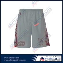 Full sublimation print basketball shorts