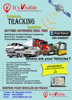 GPS Vehicle Tracking Solution in UAE
