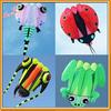 Pilot kite, Lifter, large show kite, TRILOBITE, FROG, LADYBUG,TADPOLE from Kite factory