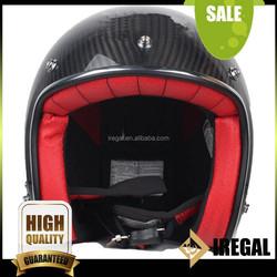 Shanghai Hot Custom Carbon Fiber Half Helmet Made in China