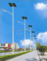 EverExceed 40w Solar LED Street Light With 29.6V/72AH Lithium-ion Battery