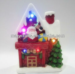 New ceramic christmas village houses