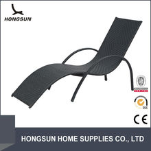 Made in china modern rattan single seat italian outdoor sofa bed