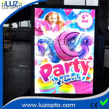 led light poster,acrylic sheet poster frame wholesale,led light frame
