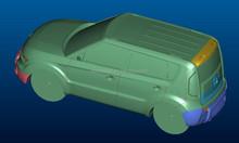 Custom 1 18 modèle modèle de voiture, Produit industriel entreprise de conception, Vraie voiture données amélioration