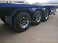 truck tractor trailer,40ft container transport chassis
