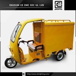 electric tricycle(motor gerobak roda tiga) cabin cargo tricycle for sale cabin cargo tricycle