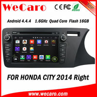Wecaro Double Din Android Car Multimedia GPS Navigation System for Honda City