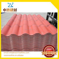 high quality Recycled rubber roof tiles/plastic roof tile terracotta/Roman tile roof
