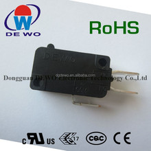 Micro switch standard dimensions