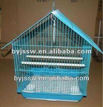 Bird Cage Wire Folding Black Wire Large