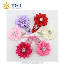>>>> New 2015 high quality polygonal flower hair clips baby girl hairwear baby&kids hairpins children hair accessories