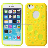 Hybrid mobile phone cases Color Bubble Phone Case silicone case for iPhone 6, accept paypal