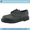 4 inch leather upper rubber sole safety shoes men