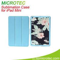 Thermal transfer item for ipad mini folio pu case