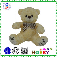 China Customized plush sleeping teddy bear toy