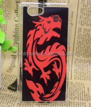 Hot selling sublimation plastic cell mobile phone case for Z1 mini