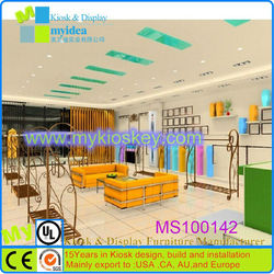 Retail with low cost used retail store furniture, furniture for shoe store , store display furniture