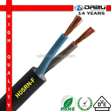 rubber insulation H05RN-F 300/500V lighting cable