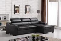Black color wooden sofa cum bed designs, sofa by