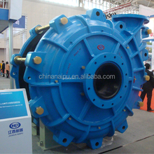 Naipu slurry pump rubber lined rubber pump spare parts