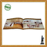 Cheap Colorful Paper Catalogue Printing Paper book / customized A4 catalogue printing