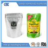 custom food packaging rice snack bag/stand up flexible packaging food bag with zipper