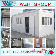 prefab house for sale and living & container home & prefab container with light steel