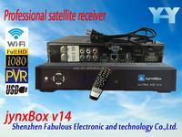 jynxbox dvb iks iptv free full fta digital satellite receiver hd mini dvb-s2 best tv boxs Arab jynxbox ultra v14