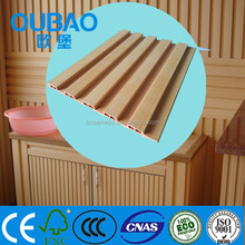 2015 new product wood plastic composite construction building modern house interior decoration plastic wood