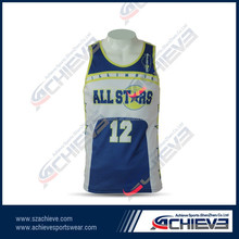 hot selling digital sublimated youth hign quality basketball jerseys