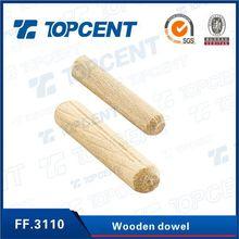 Alta calidad de proveedor mueble conncting clavija de madera
