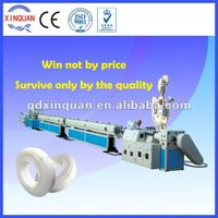 PE PPR cold and hot water supply plastic pipe making machine