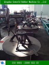 waste ti recycling machine / tyre ring cutter machine