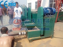Manufacturer briquette charcoal extruder machine for peanut shell rice husk sawdust