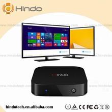 Hindo Wintel W8 Window tv box Support USB Wire/ WiFi 2.4G Wireless Wintel smart tv box