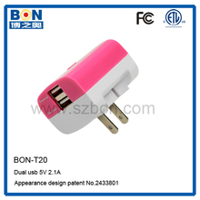 ETL FCC 5V 2.1A bulk charger sans charger for samsung galaxy s5 charger