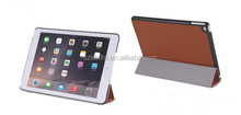 Soft feeling Folio Genuine Leather case for iPad air/iPad air 2