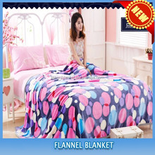 2015 NEW DESIGN extra soft coral fleece throw wholesale for baby and adult use
