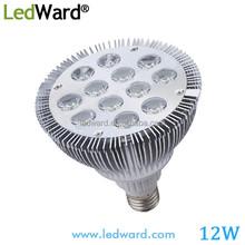 12w Par38 LED Lights of LED Lamp E27 Base GU10 Socket